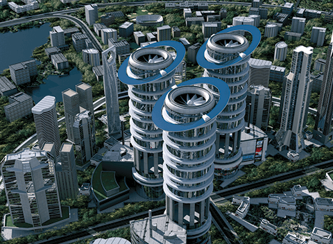 Siemens building