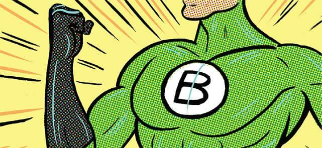 corporate superheroes