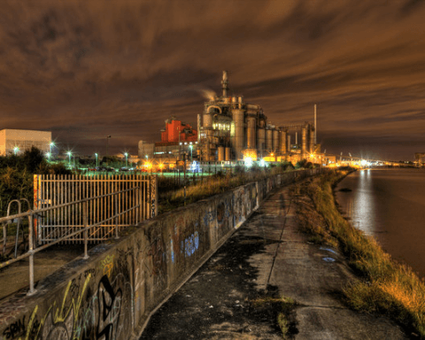 Procter & Gamble chemical works