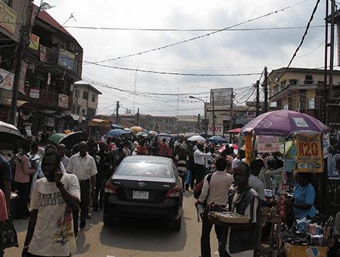 Lagos, Nigeria. Photo by Stefan Magdalinski