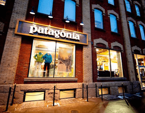 patagonia store on king st