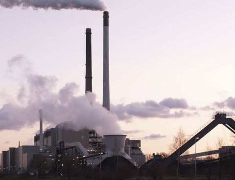 A coal plant in Germany. Image by Arnold Paul