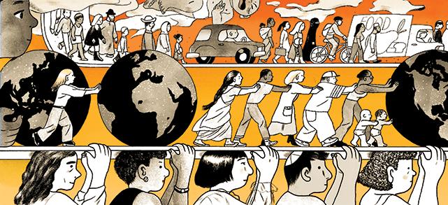 Illustration by Jillian Tamaki