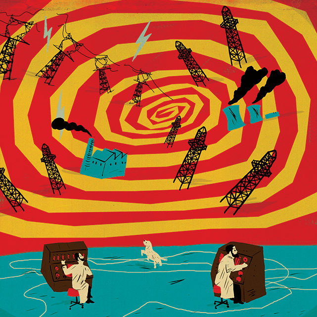 Illustration by Paul Blow
