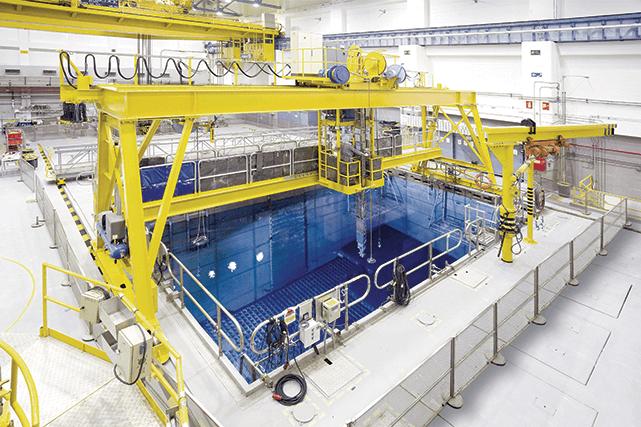 Spain's Santa Maria de Garona nuclear power plant