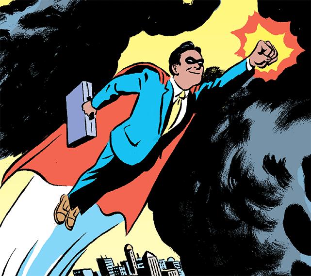 Illustration of Superhero