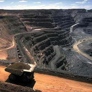 Surface coal mining. Photo by Stephen Codrington