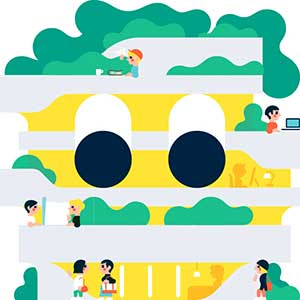 Illustration by Studio Tipi
