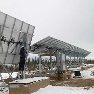 The Colville Lake microgrid in action