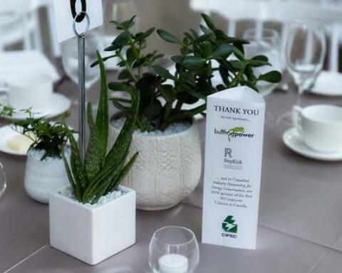 A table at a gala