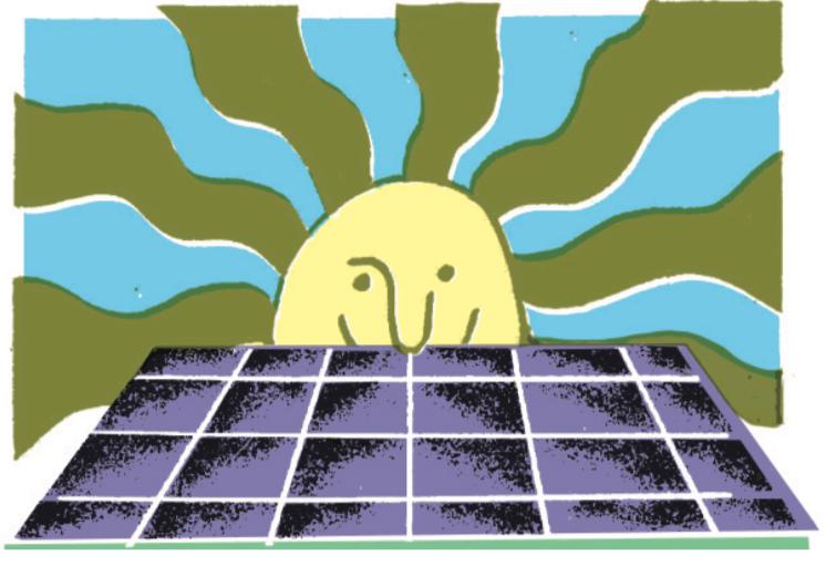 Renewable energy growth solar panels