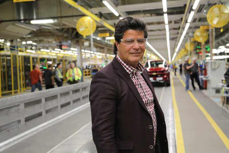 Jerry Dias-GM Oshawa plant